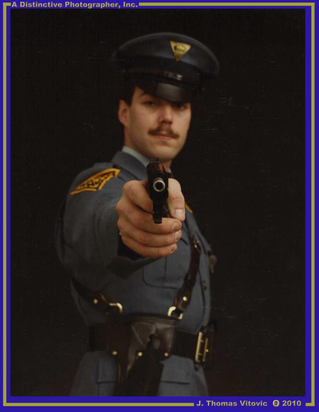 Studio Mar 02, 2011 J. Thomas Vitovic  T/N A Distinctive Photographer New Jersey State Police