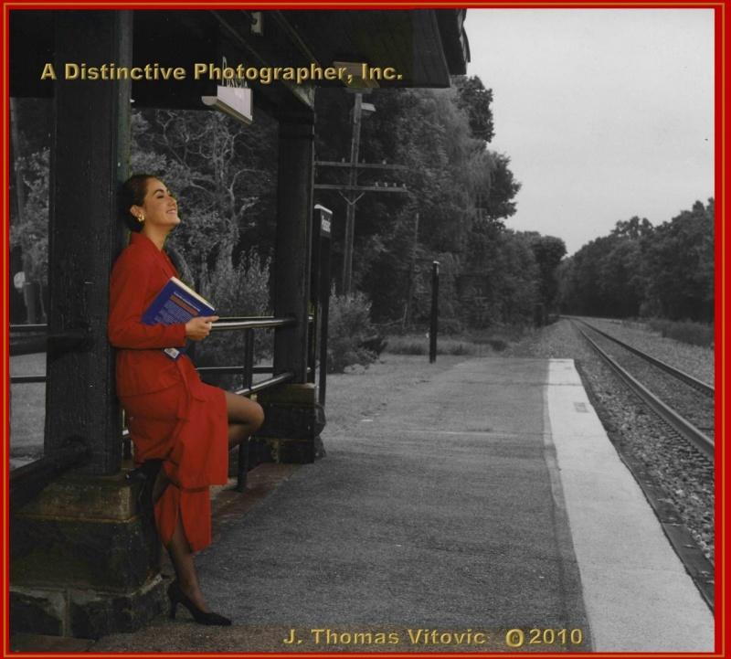 Passaic Park Metro Train Station Mar 02, 2011 J. Thomas Vitovic  T/N A Distinctive Photographer, Inc. Hilda