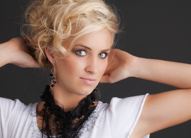 Female model photo shoot of AmandaLand by G Thompson Higgins in Omaha