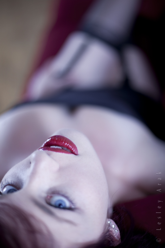 Mar 03, 2011 Lesley Arak her mouth