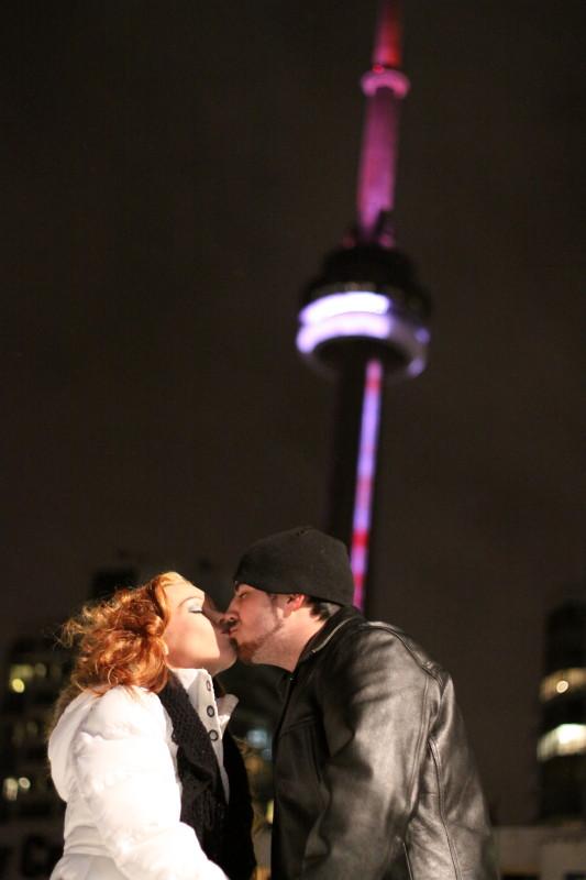 Toronto, ON Mar 03, 2011 CapturedEssencePhoto.com Winter Engagement shoot