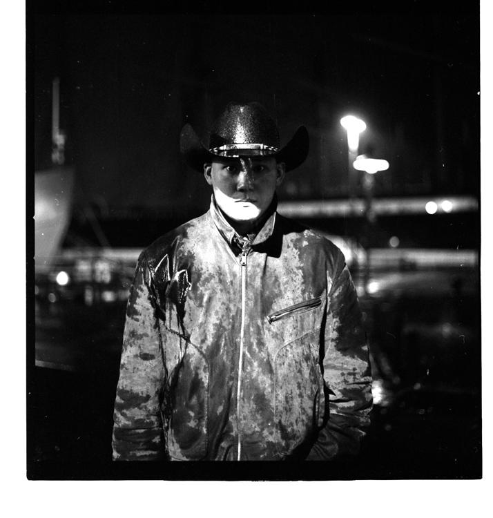 Male model photo shoot of Sunny Bertsch in South Street Seaport, NY, NY