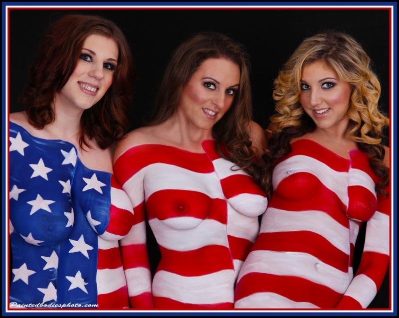 Winchester, MA Mar 06, 2011 Painted Bodies Photography Sneak Peak Warrior Girls 2012 Calendar