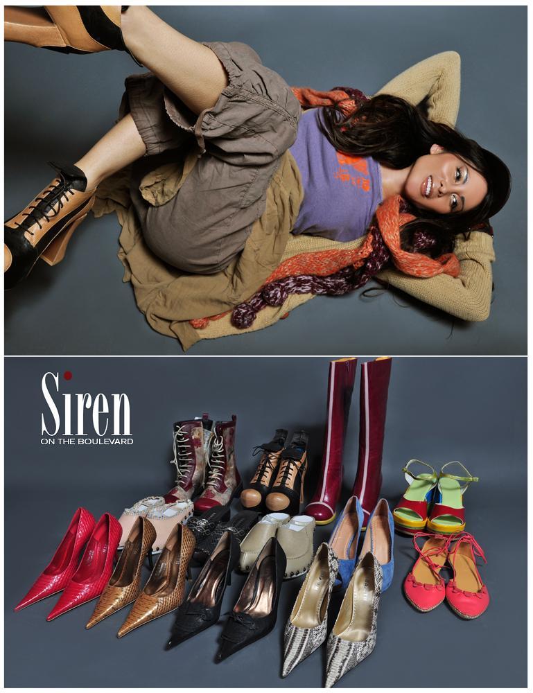 Los Angeles, CA Mar 06, 2011 Vigilante Sirens of The Boulevard Shoe Store Advertisement