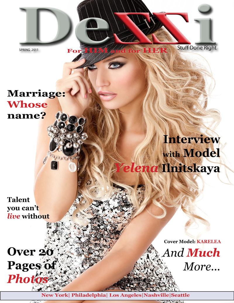 Mar 07, 2011 Dezzi The First issue is here!