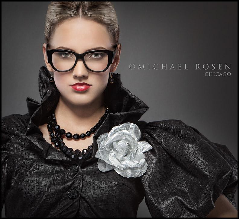 Male model photo shoot of Michael Rosen - Chicago in Rosen Studio - Chicago, makeup by Z-Artistry