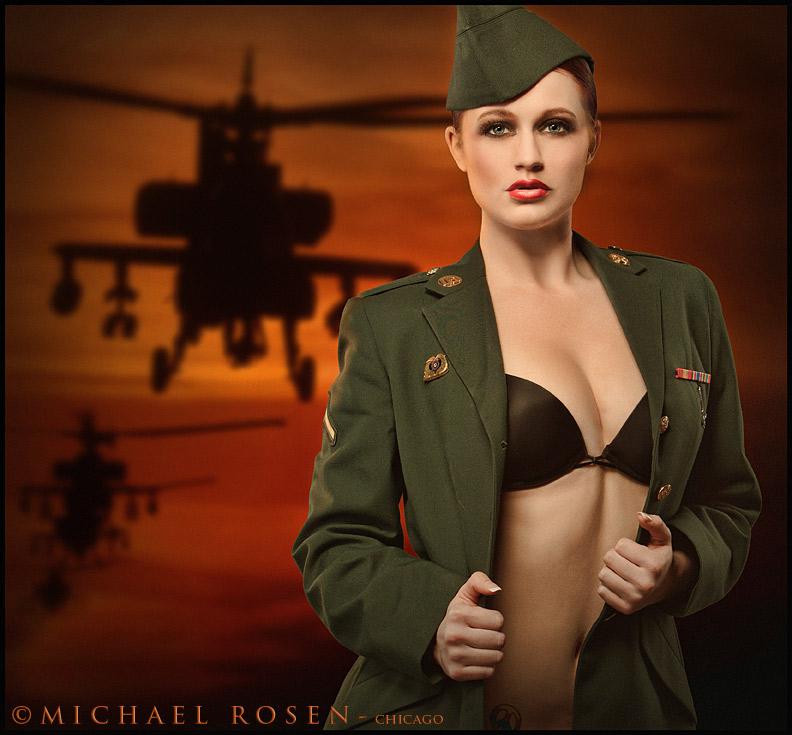 Michael Rosen / Robert Beczarski Workshop - Chicago Mar 09, 2011 Michael Rosen - Chicago Soldier Kristen - US Army