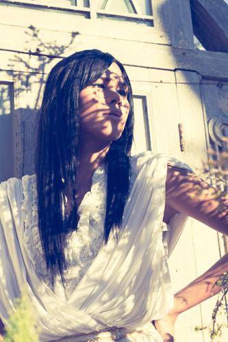 Female model photo shoot of Silvia Noelia  and L I