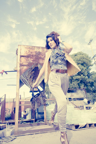 Female model photo shoot of Silvia Noelia