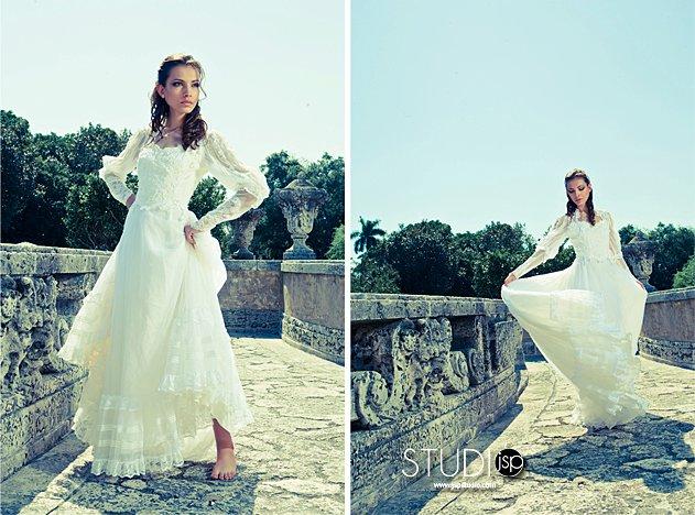 Miami ,Fl Mar 09, 2011 Jonathan Scott bridal fashion shoot