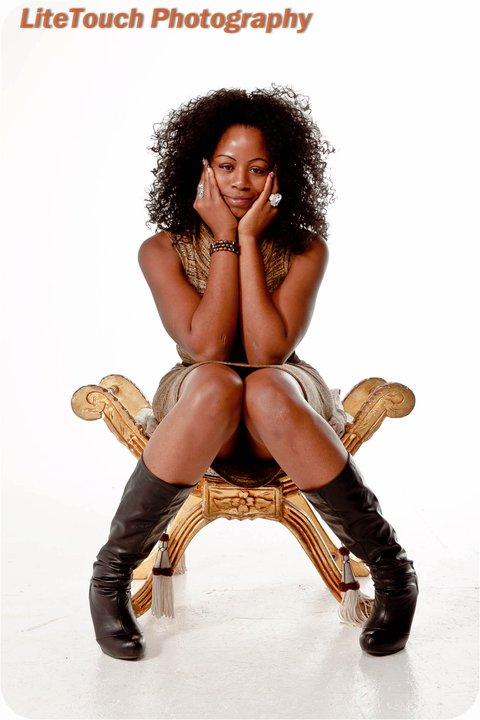 Female model photo shoot of CIERRA WYNN in Catwalks Studio