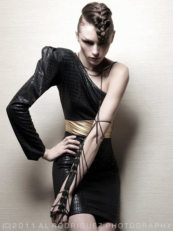 NYC Mar 12, 2011 Al Rodriguez Model - Eden Muse Makeup - Kim Young Hair - Kisha Laree AKA Lakisha Mack Styling & Designs - Katherine Germosen
