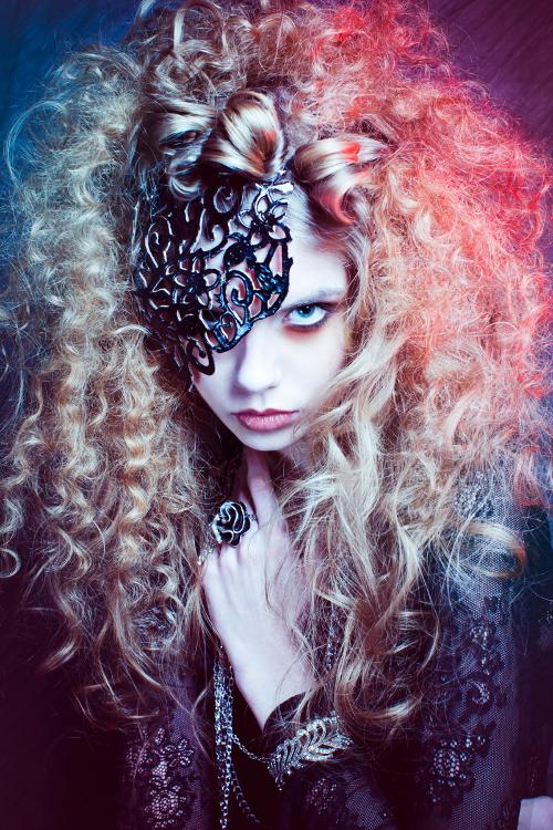 London Mar 12, 2011 Ksenia McBell / Rusana Rahman Mask is my creation. Photographer: Ksenia McBell / MUA: Aga Borowa / Hairstylist: Evgeniya Vlasova / Model: Anastasia Filina @ Profile Model Management