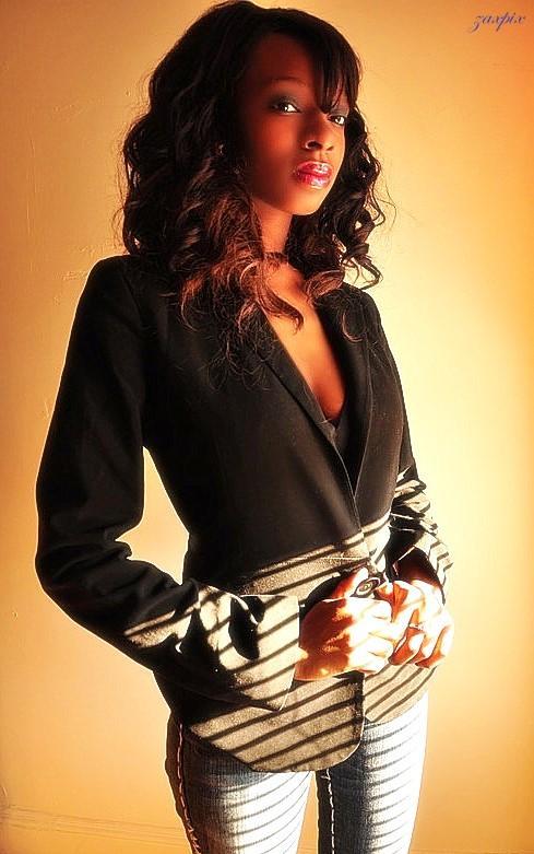 Female model photo shoot of American Angel by zaxpix