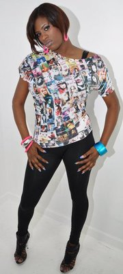 Female model photo shoot of Nakeda Eye Candy in EAst Side Decatur