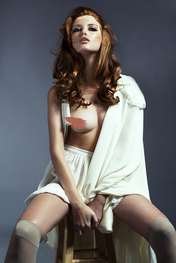 Female model photo shoot of Iman Haji in Downtown LA