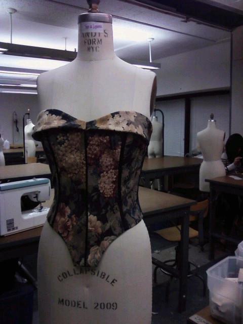 MassArt Mar 16, 2011 (A) corset