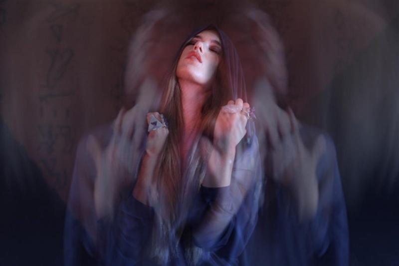 Female model photo shoot of Wallman Photography and Andrea Franci, hair styled by Mariella S