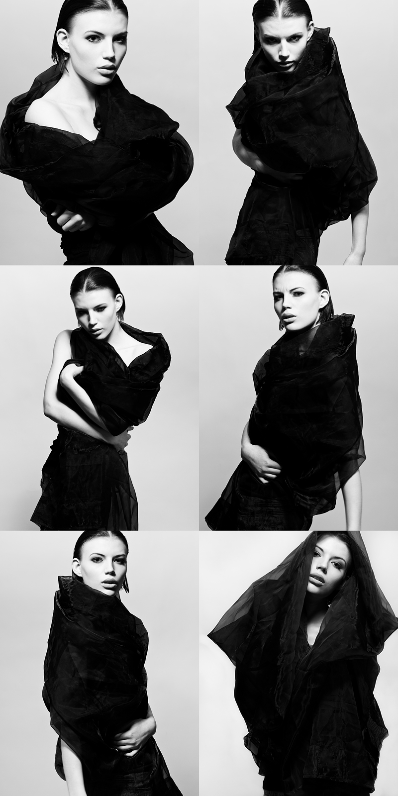 Gothenburg, Sweden Mar 16, 2011 Pierre Gander Model: Izabella D / Hair & makeup: Charlotte Ferm