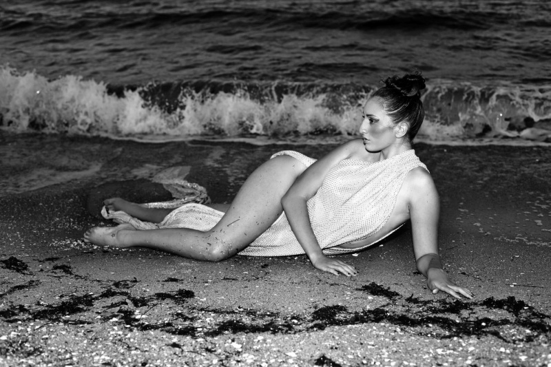 Beach - Port Melbourne Mar 16, 2011 Nat V Katie Gray - Full Body Shot
