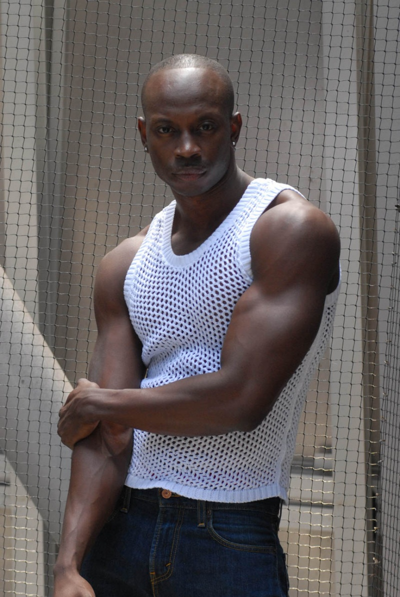 Somewhere  Downtown. Mar 18, 2011 Steven Williams. Netted Tank Top.