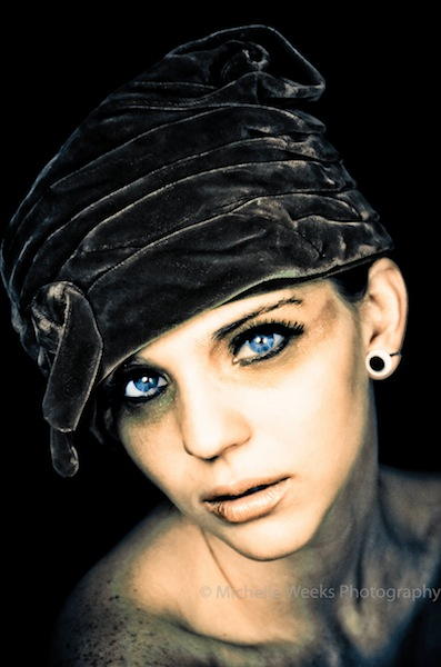 Female model photo shoot of Michelle Weeks  in New Orleans, LA