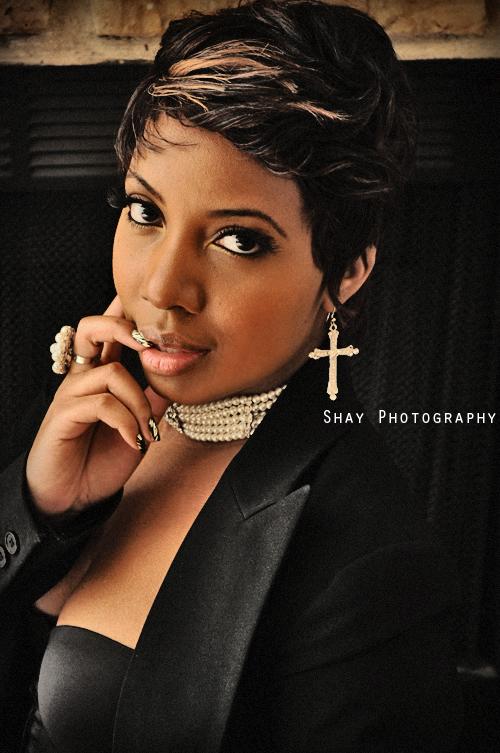 Female model photo shoot of SHAYTHENIKONQUEEN