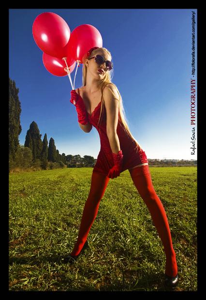 Female model photo shoot of melibee