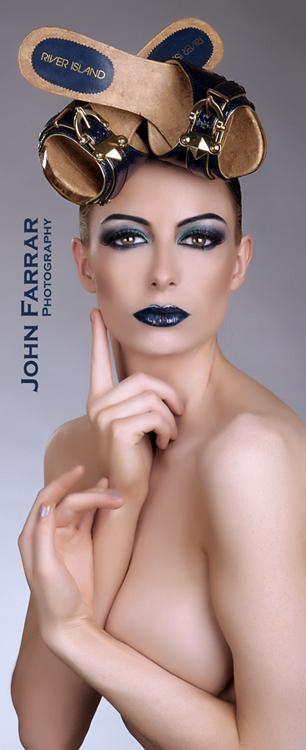 Female model photo shoot of KirstyCorner by Brightonian in Brighton, makeup by Arpita