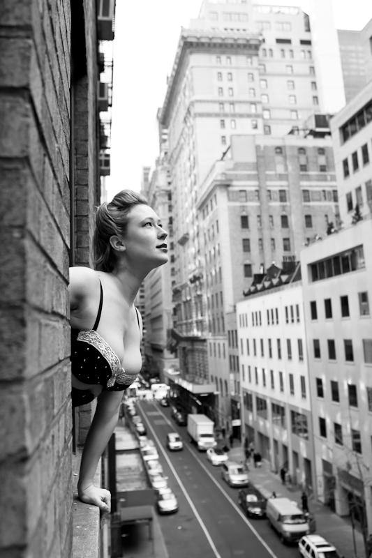 Female model photo shoot of Hannah Colclazier in New York City, NY