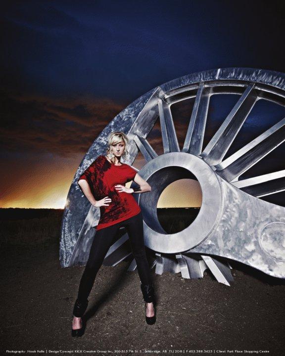 Female model photo shoot of Anna Nemtsow