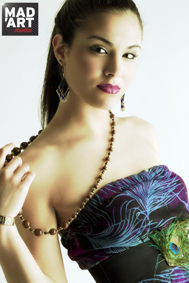 Female model photo shoot of Stephanie Brazeek in BK NY