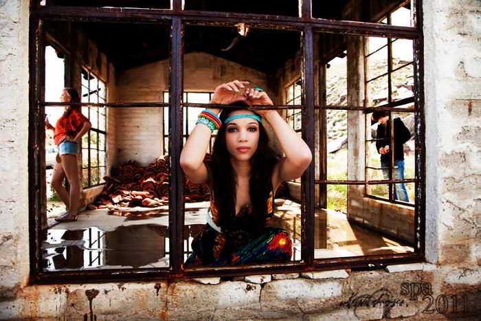 Female model photo shoot of Kristi Sanger in Palm Springs, CA