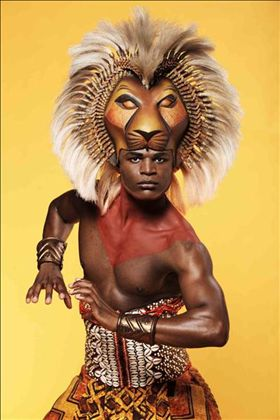 London Mar 24, 2011 Lion King Publicity Poster shot