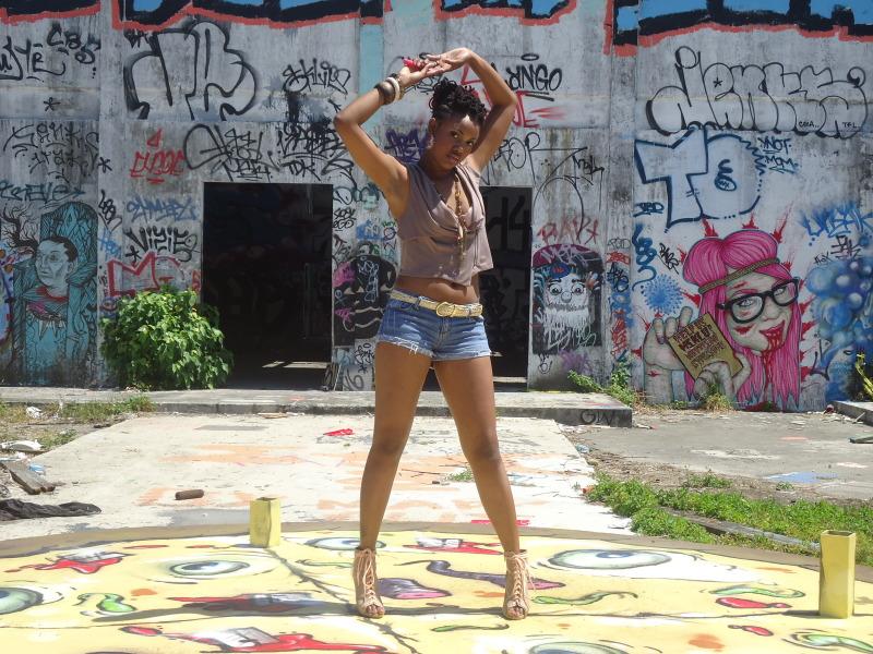 Female model photo shoot of Krissy Cameron in Miami