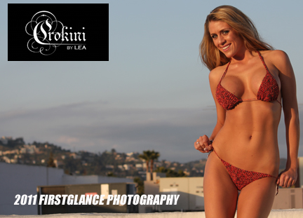 Beverly Hills Mar 25, 2011 2011 FirstGlance Photography Crokini Swimwear