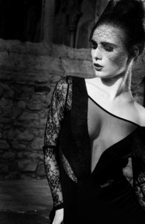 Female model photo shoot of Indigo Papillon  in Southampton