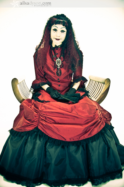 The Cre8ery Studio , Winnipeg , MB, Canada. Mar 26, 2011 Ailsa Dyson - Photographer. Gothic Rag Doll Sitting Pretty