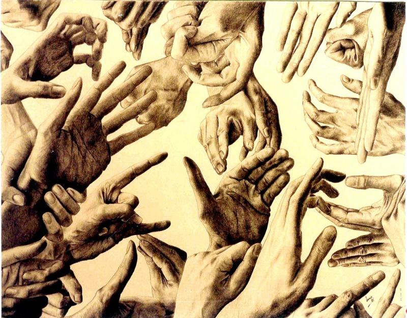 Brussels Mar 28, 2011 Jempi Samyn 29 times my own hand!