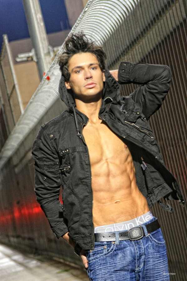 Male model photo shoot of Dimi Bozinovski by Martin Ryter Studio in Hollywood, CA