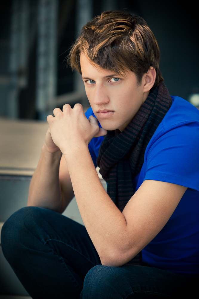 Male model photo shoot of Christopher F Gill in Blue Star Art Complex