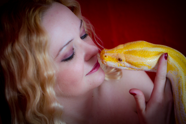 Female model photo shoot of Lilith Incarnate by color me gone