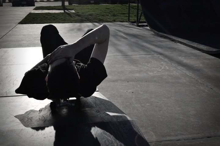 Female model photo shoot of Lekky Charms in Skate Park March 2011