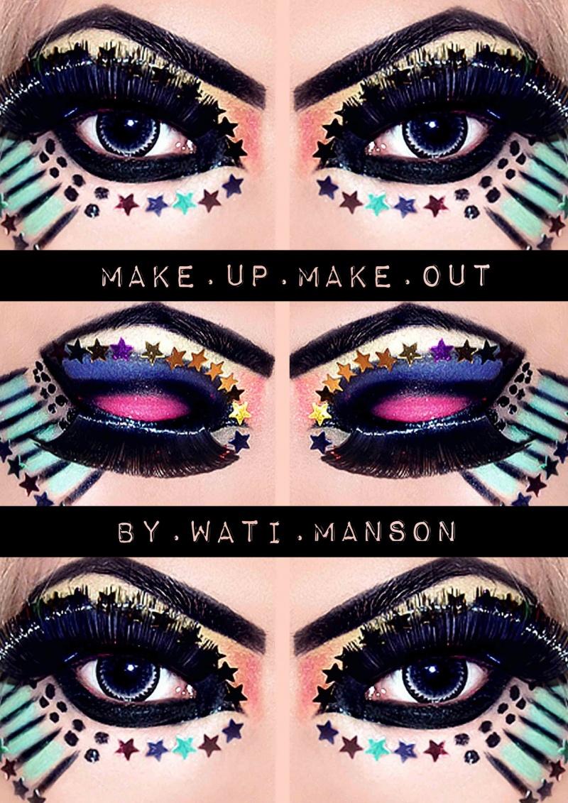 Apr 01, 2011 Wati Manson [ Photo, Model, Manipulation, Make up ] Crazy Eyes.