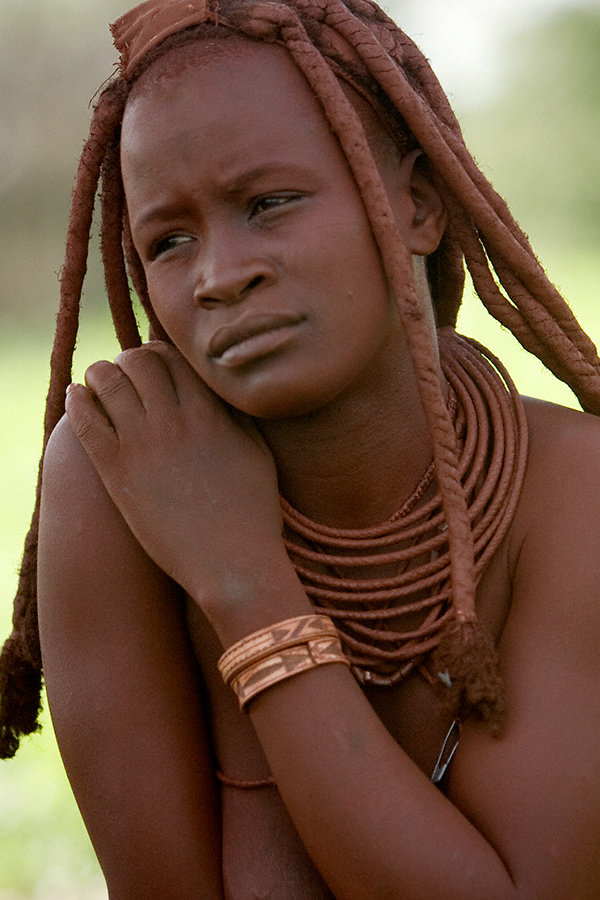 Southern Africa Apr 02, 2011 Himba tribe woman