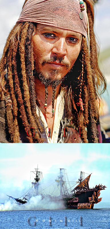On board the Black Pearl and the Flying Dutchman in Freeport, Bahamas. Apr 02, 2011 © Paulino Sensei | PAGalleria.com@gmail.com The notorious Captain Jack Sparrow captured while on production of Pirates franchise. JD is an insanely talented dude, and one of the nicest individuals you will ever meet in this lifetime.