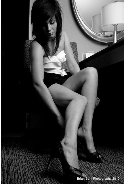 Female model photo shoot of Sawa6 by AlluringLight