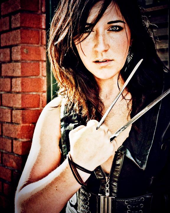 Female model photo shoot of Desiree Renee by Bobby Ray