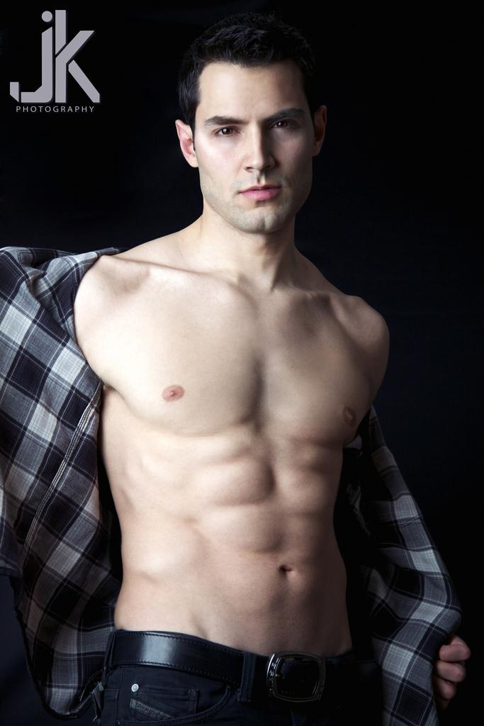 Male model photo shoot of JK Photography and Samy Osman in JK Studio