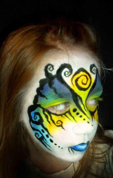 Apr 07, 2011 Gen Keller / Sparkles Face & Body Designs Tribal